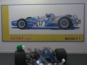 matra, gordini, trophée, R8G