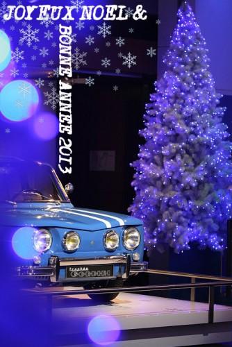 gordini,trophée,R8G,alpine,trophee gordini,R8,renault,4L,2013,voeux,bonne année